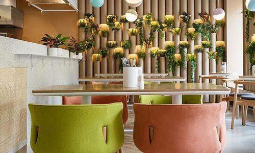طراحی داخلی رستوران شهرکرد