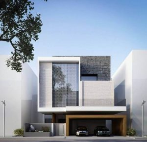 طراحی نمای ساختمان مدرن شهرکرد