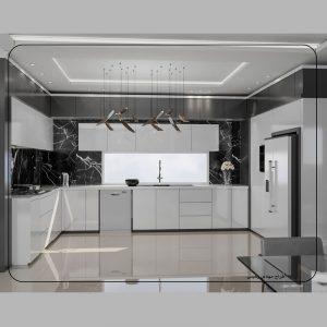 طراحی حرفه ای آشپزخانه