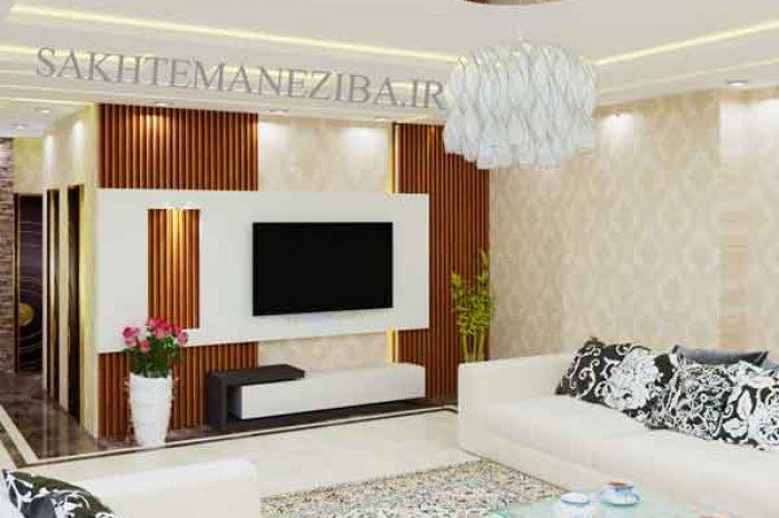طراحی tv wall