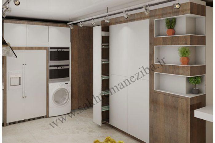 طراحی کابینت آشپزخانه شهرکرد